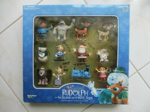 2001 Playing Mantis Rudolph & The Island Of Misfit Toys Ornament Collection