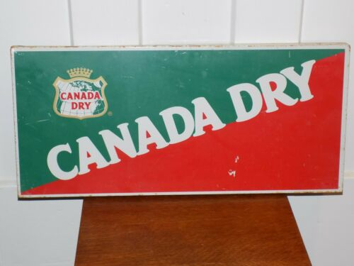 Canada Dry Metal Sign Display Topper