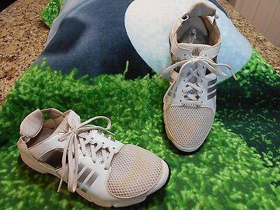 Womens Adidas Adiwear Traxion Lite Golf shoes SZ 8 M Ladies Open heel & mid ()