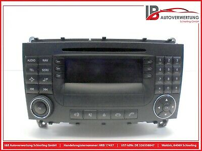 Mercedes Benz CLK W209 ► Original Autoradio CD Navi BE 6098 ► A 2098206789