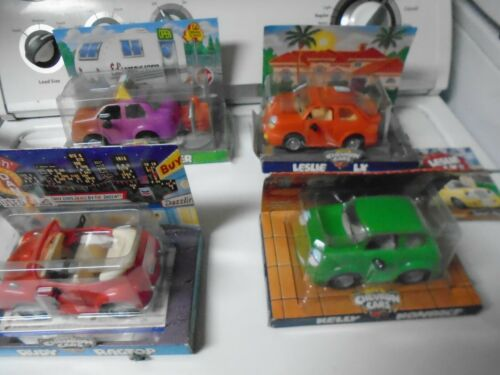 Lot of 4 Chevron Cars NIB