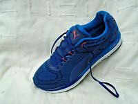 Puma Ignite 2 Speed 600 Lace Up Blue Pink Textile Mens Trainers 189518 01 B16C