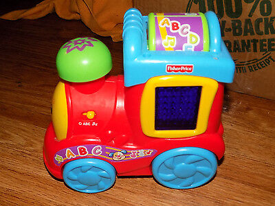 Fisher Price Laugh & Learn ABC Learning Train Music Sounds ABCs Counting