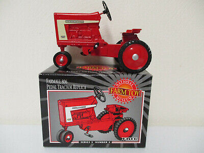 Farmall 806 Pedal Tractor REPLICA National Farm Toy Museum Edition by Ertl  ! - Pedal Farm Tractor