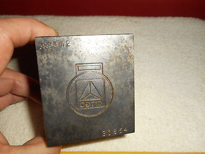 CITGO Jewelry Stamping Die Hub Hob Mold Steel FOB Gas Petroleum Emblem Badge