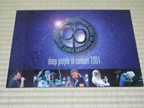 """""""Deep Purple"""" Tourbook Concert 2001 Booklet"""