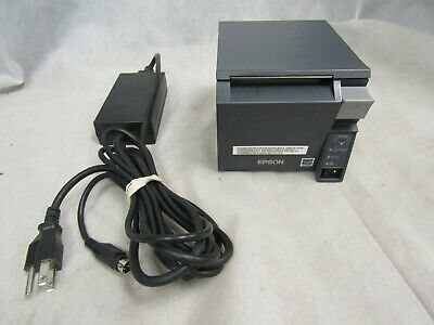 Epson Tm-t70ii M296a Pos Receipt Printer Wac Adapter Tested And Working