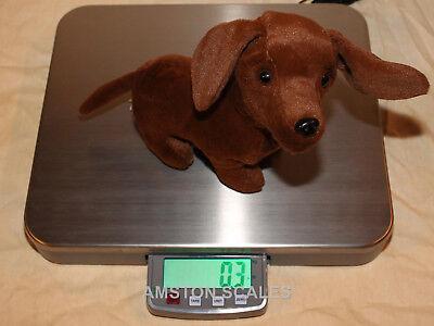 200 X 0.05 Lb Digital Small Animal Vet Scale 14 X 16 Steel Tray Dog Cat Rabbit C