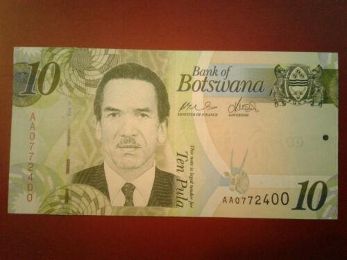 Botswana 10 Pula Banknote ND *UNC* #*