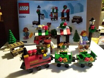 LEGO 40262 - Christmas Train Ride Holiday Market