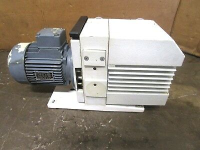Leybold S16b 10266 .55kw Trivac Rotary Vane Vacuum Pump 240-277415-480v 3ph