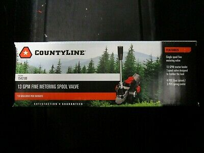 Countyline 13 Gpm Fine Metering Spool Valve 1542189 Brand New