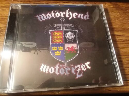 MOTORHEAD AUTOGRAPHED MOTORIZER BY ALL THREE LEMMY PHIL CAMPBELL MIKKEY DEE
