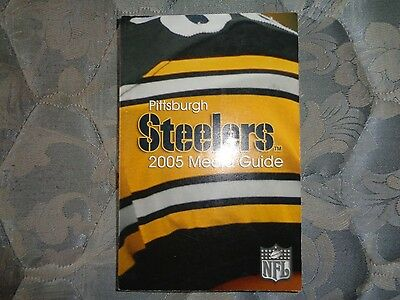 2005 Pittsburgh Steelers Media Guide Yearbook Super Bowl Champions  Program Ad