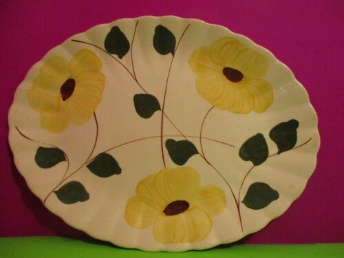 Blue Ridge Pottery  Ridge Daisy  Turkey Platter