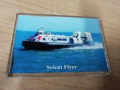 HOVERTRAVEL Hovercraft SOLENT FLYER Large Fridge Magnet Ferry Solent I.o.Wight c
