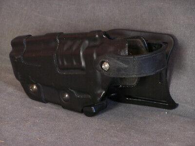 Black Safariland Glock 20 21 Duty Left Hand Holster Model 6070-383 Level 3