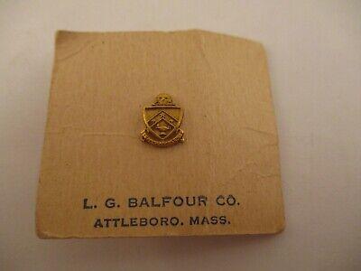Vintage Gamma Kappa Chi Fraternity Lapel Pin Tie Tack Balfour