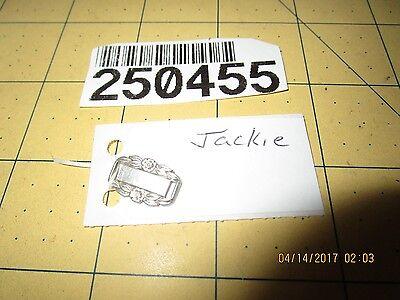 Sterling Silver WWII Forget-Me-Not  Bracelet charm  Link 250455 jackie