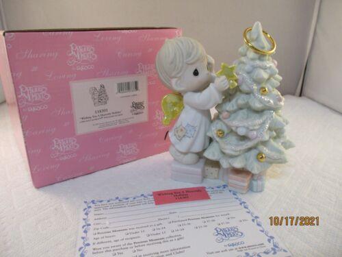 Precious Moments Figurine - Wishing You A Heavenly Holiday - #118301