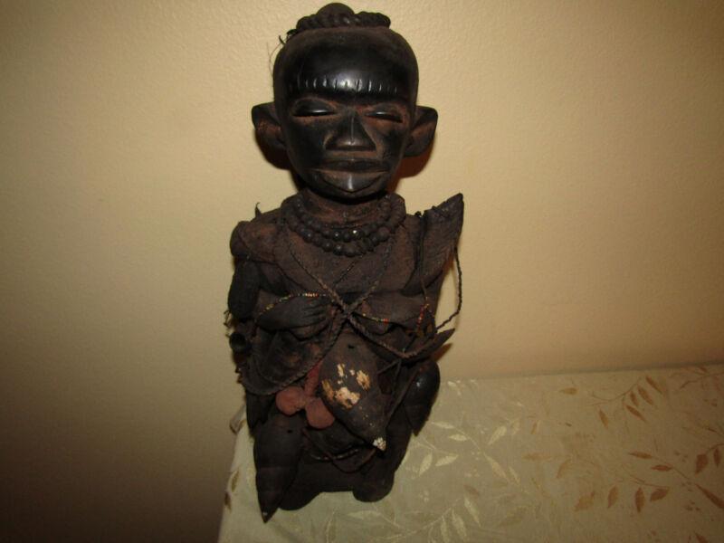 Voodoo Fetish Ceremonial Statue
