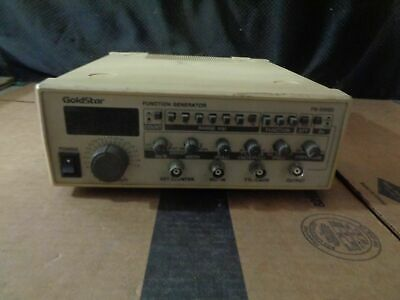 Goldstar Fg-2002c 0.02hz-2mhz Sweep Function Generator