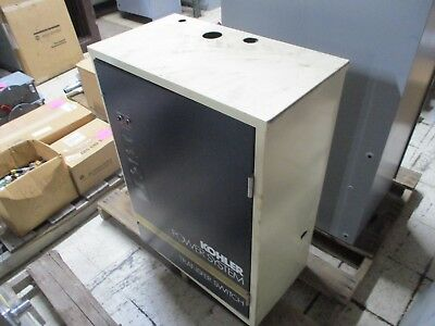 Kohler Automatic Transfer Switch K-168541-70 70a 208v 3ph 4w 60hz 3p Used