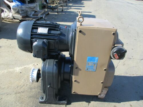Sterling 30 H.p. Vari Speed Gear Motor