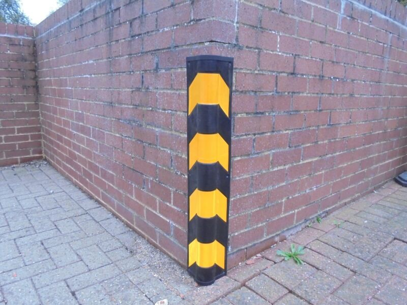 rubber corner and wall protector.