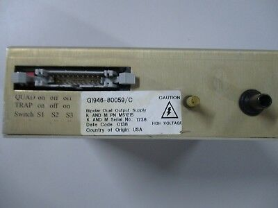 Agilent Bipolar Dual Output Power Supply K And M Pn Ms1015