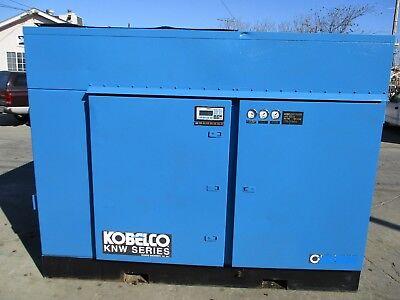 Kobelco Oil-free Air Compressor Model Knwai-dh 150 H.p. 150 Psi 610 Cfm