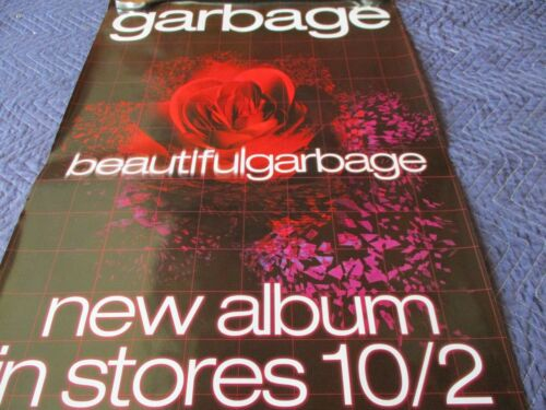 GARBAGE POSTER BEAUTIFUL GARBAGE NEW ALBUM 10/2  ( 24 X 35 1/2) #5