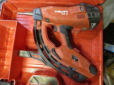 Hilti Gx-3 Gas Actuated Fastening Tool Nail Gun Nailer X-m40