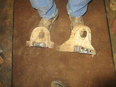 Rear Upper Shock Mount Bracket Pair Set Chevy GMC C/K Pickup tahoe used 88-98
