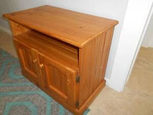 Wood Cabinet & More