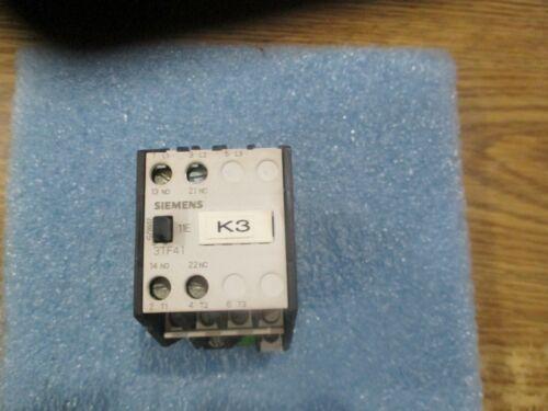 Siemens Model: 3TF4111-0A Contactor  1S+10/1NO+1NC<