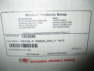 National Oilwell Varco 1502056 Green Duo 5 Piston 1415 Bore For Oilwell A-1700