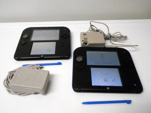 Nintendo 2DS Systems w/charger bundle choose system color Free Shipping