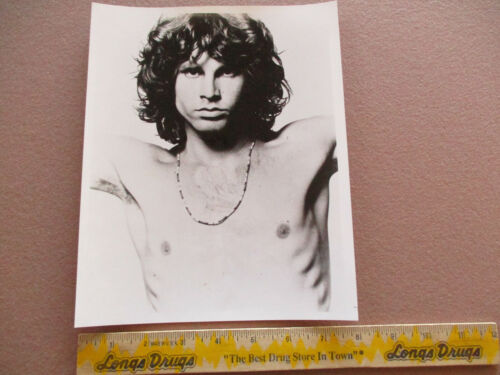 Jim Morrison - Elektra Records B & W 8 X 10 Publicity Photo VG+ $6.95