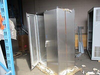 Hoffman Two-door Dual-access Stainless Steel Enclosure Fs201284dsp0 New Surplus