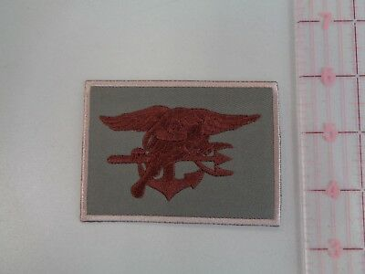 Navy SEAL Trident Patch  Tan  2-1/2 x 3 1/2