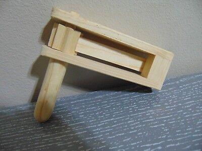 Mini Mexican Wooden Noisemaker Grogger, Mini Matraca Ratchet Sports LOUD 6.5