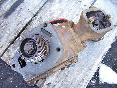 Vintage Mccormick Farmall H Tractor -engine Governor Assembly - 1944