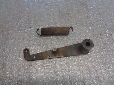 John Deere 1010 Crawler Tractor Governor Lever Assembly Gas And Spring