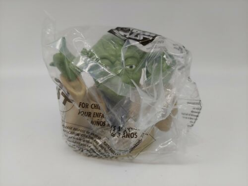 Star Wars Episode 1 Yoda Taco Bell Cup Topper - Factory Sealed