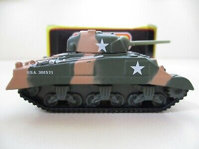 MATCHBOX COLLECTIBLES - PREMIERE MILITARY - SHERMAN TANK - 1/64 DIECAST
