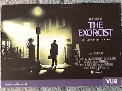 The Exorcist : Extended Directors Cut (2013) promotional postcard