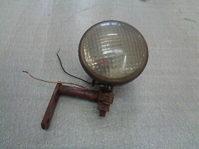 Farmall 400 450. Rear Tractor Light And Brackets With Red Bulb