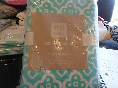 2 Pottery Barn Teen Boho Medallion  standard pillowcases pool New