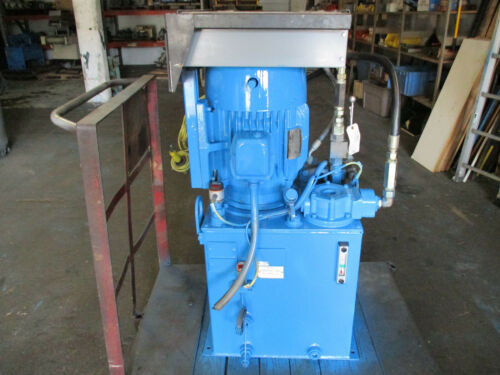 Parker Hydraulic Power Unit 10 HP 12-1/2GPM